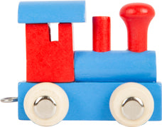 Personalised Wooden Letter Train