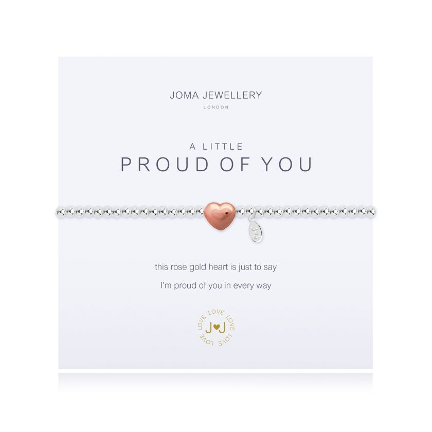 Joma Jewellery - a little Proud of You Bracelet
