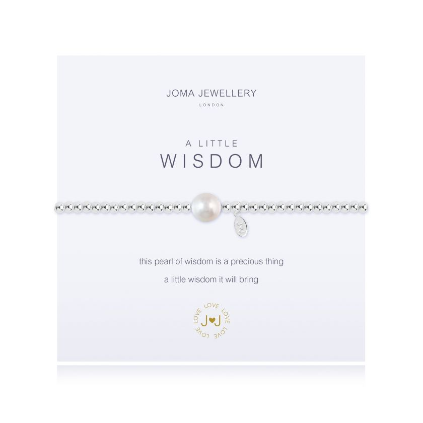 Joma Jewellery - a little Wisdom Bracelet
