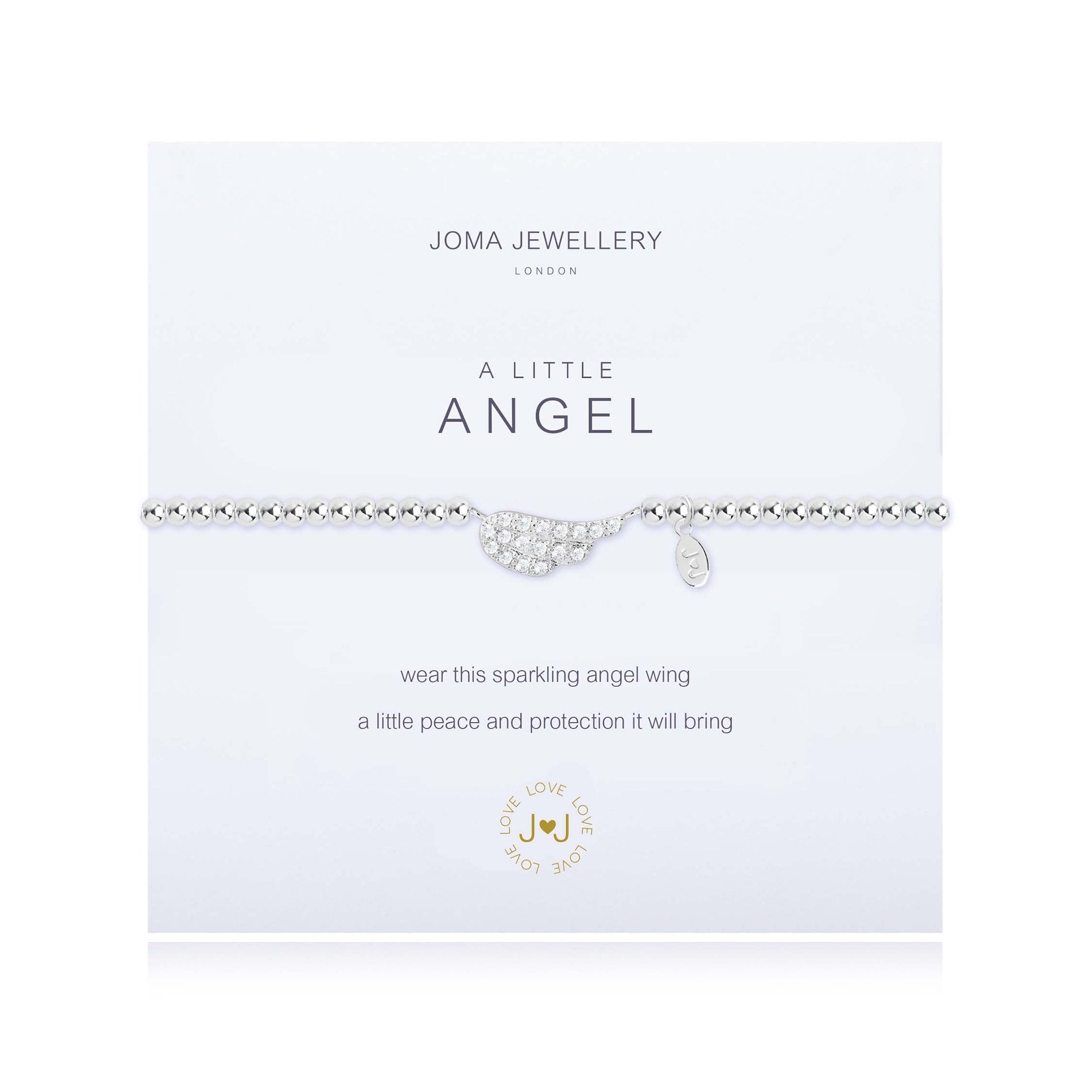 Joma Jewellery A LITTLE ANGEL BRACELET