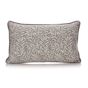 WILLIAM MORRIS WILLOW CUSHION (GREY) 30x50CM