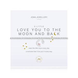 Joma Jewellery LOVE YOU TO THE MOON & BACK BRACELET