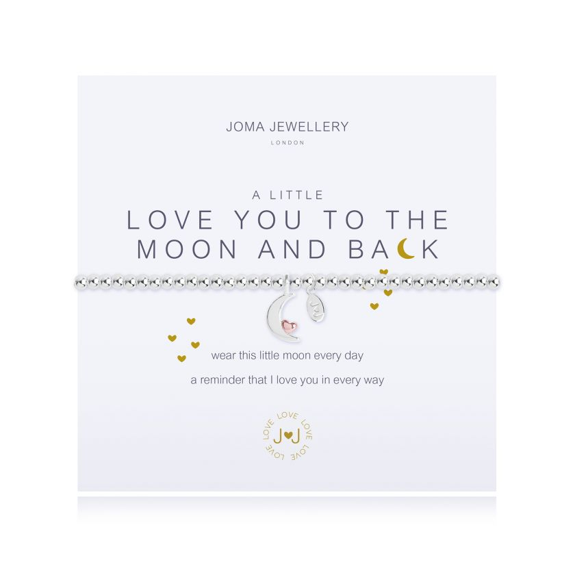 Joma Jewellery - a little Love you to the Moon and back Bracelet
