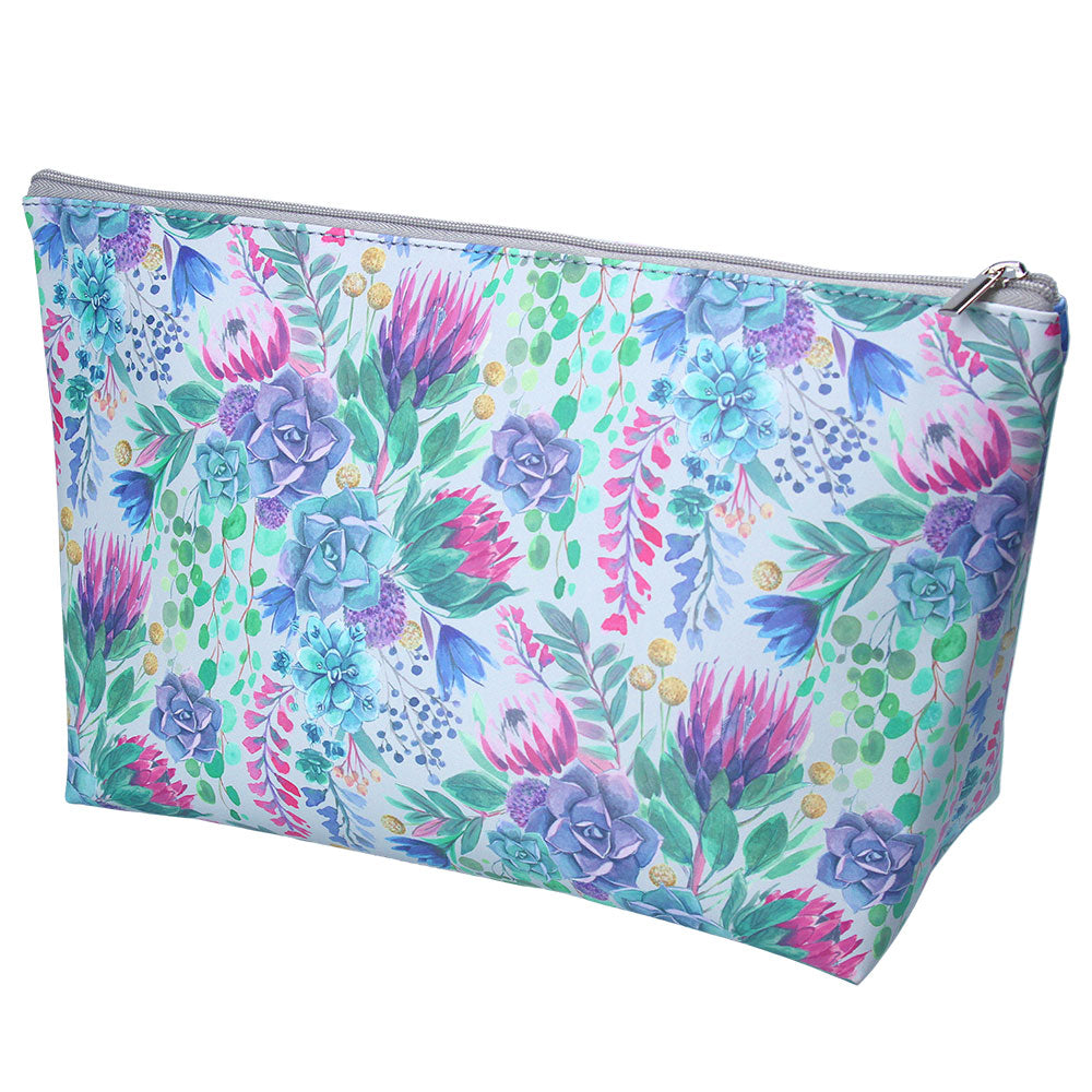 Desert Blooms PU Washbag