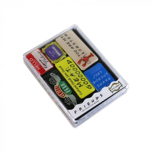 FRIENDS (QUOTES) MAGNET EPOXY SET OF 6