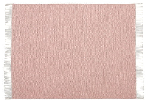 Scatter Box Geo Throw 127x178cm, Blush / Grey