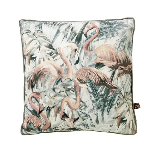 Scatter Box Strut 45x45cm Cushion, Grey/Blush