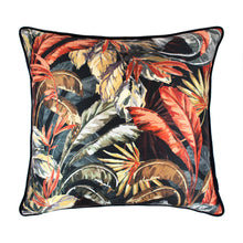 Scatter Box Paradisa 45x45cm Cushion, Navy/Rust