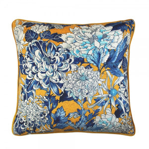 Scatter Box Sakura 45x45cm Cushion, Yellow/Blue