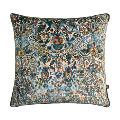 Scatter Box Lisboa 43x43cm Cushion, Teal