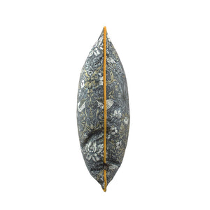 Scatter Box Vivaldi 43x43cm Cushion, Grey/Gold