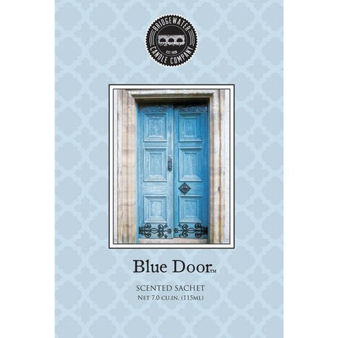 Scented Sachet Blue Door by Bridgewater (Large)