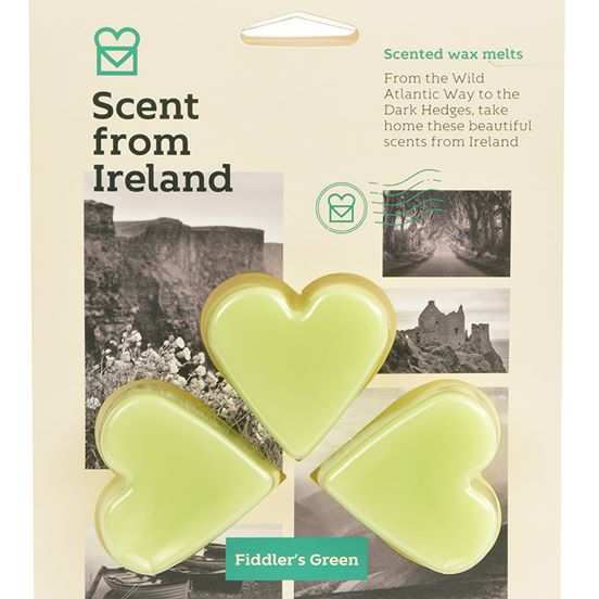 Scent from Ireland Wax Melts FIDDLER'S GREEN