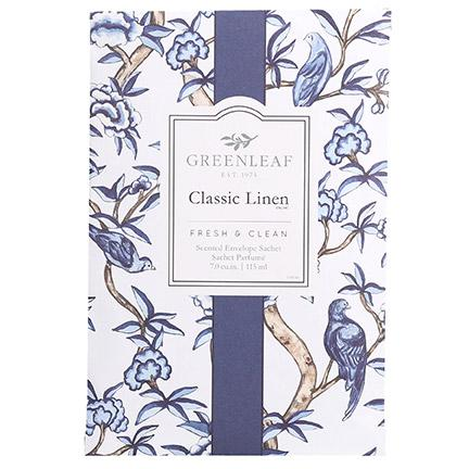 Scented Sachet Classic Linen by Greenleaf (Large)