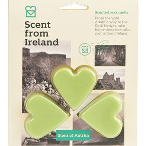 Scent from Ireland Wax Melts THE GLENS OF ANTRIM