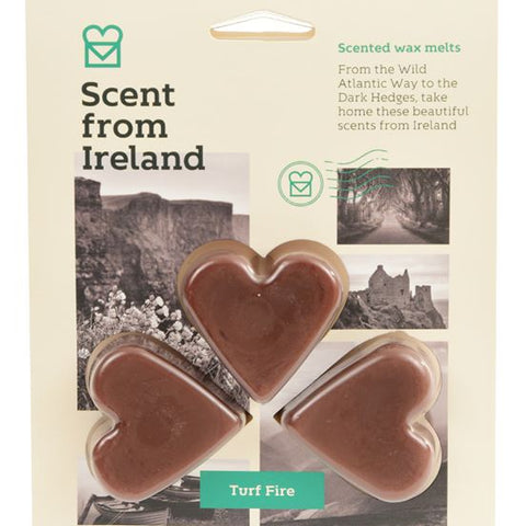 Scent from Ireland Wax Melts TURF FIRE