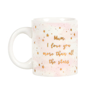 SCATTERED STARS MUM I LOVE YOU MORE MUG