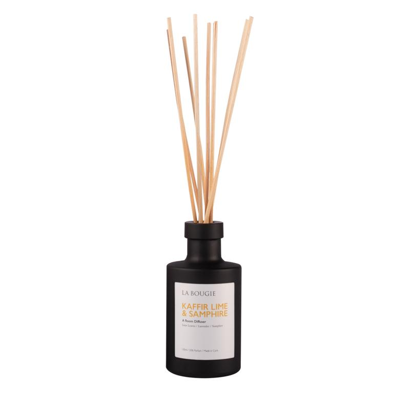 La Bougie Kaffir Lime & Samphire Room Diffuser