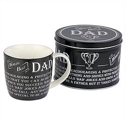 Ultimate Gift For Man Dad Mug in a Tin