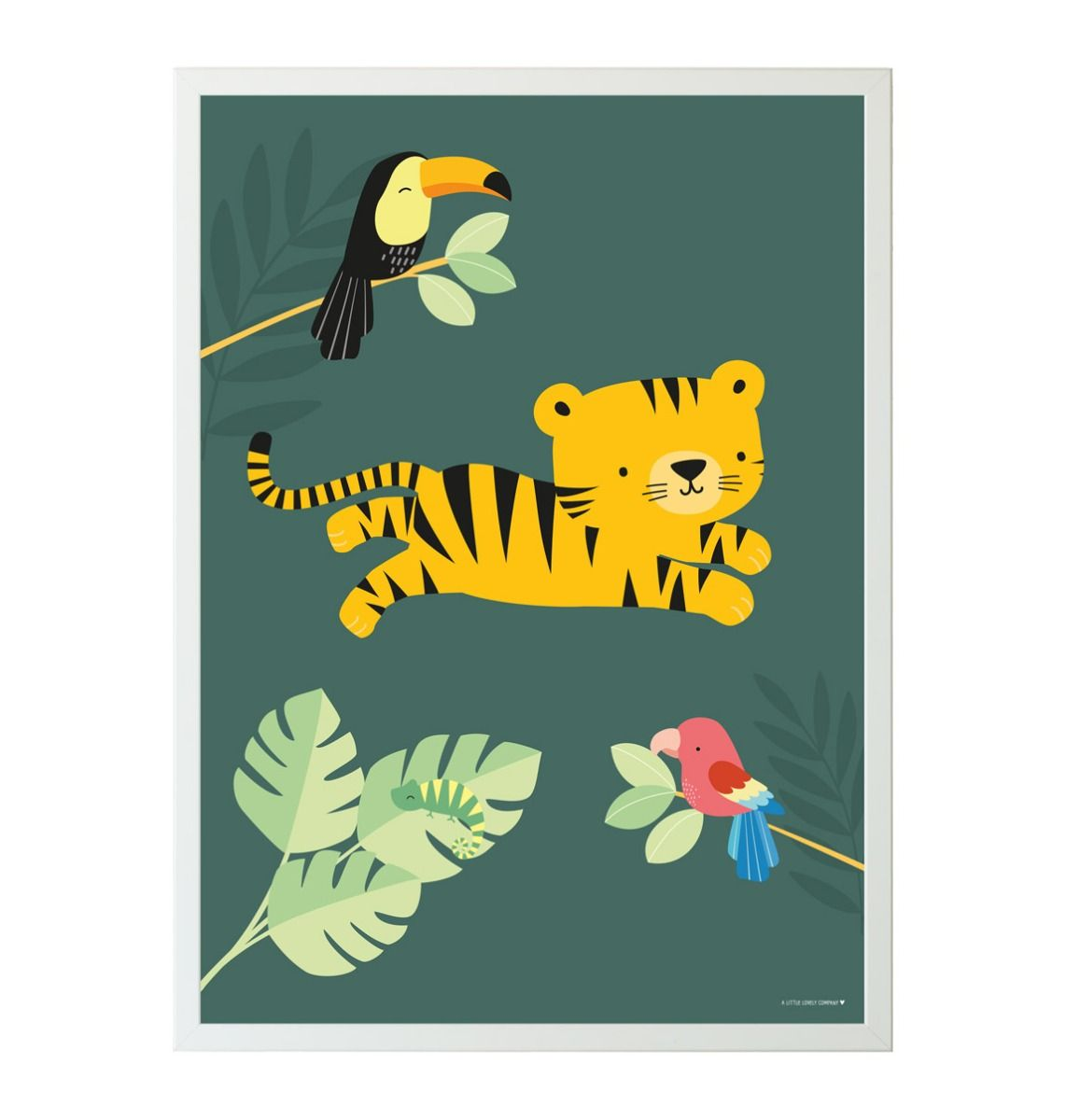 Poster: Jungle tiger