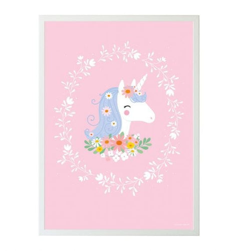 Poster: Lovely unicorn