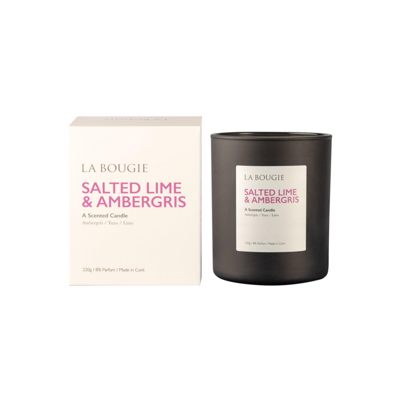 La Bougie Salted Lime & Ambergris Candle