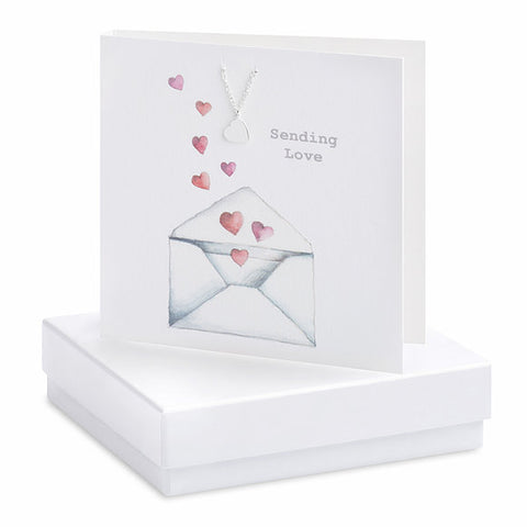 Crumble & Core Boxed Bracelet Heart Card