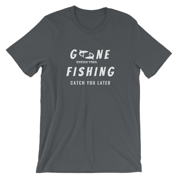 Ocean Vida Short-Sleeve Gone Fishing T-Shirt