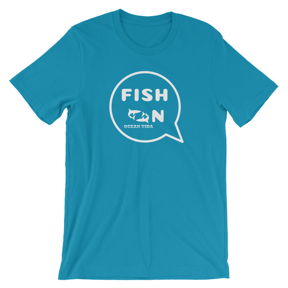 Fish On Short-Sleeve T-Shirt