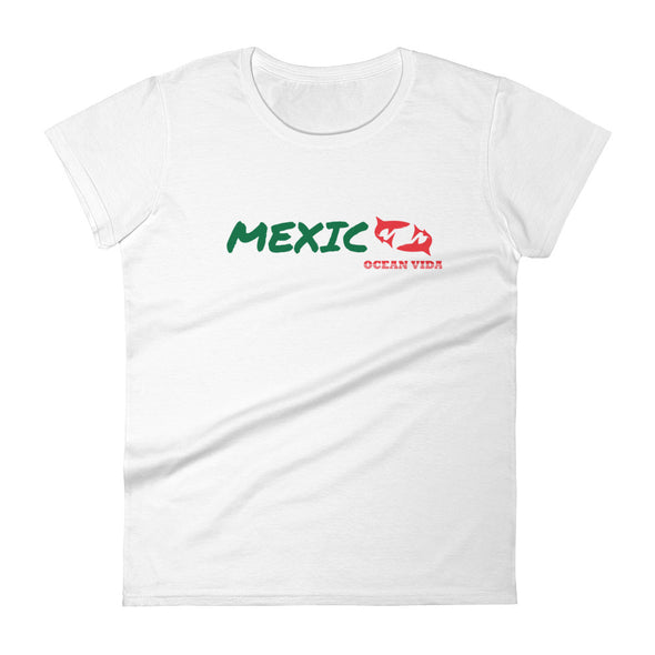 Ocean Vida Women's MEXICO short sleeve t-shirt