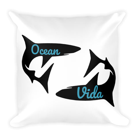 Live for the Water Square Pillow
