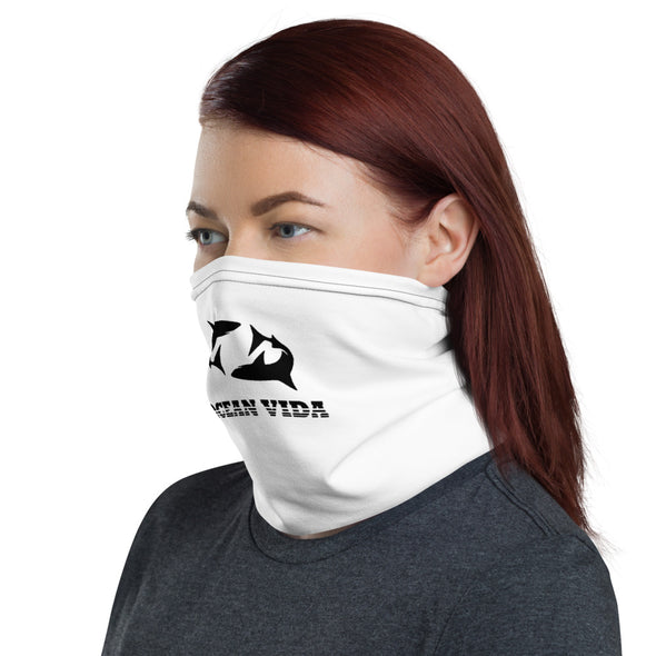 Ocean Vida White Face Shield