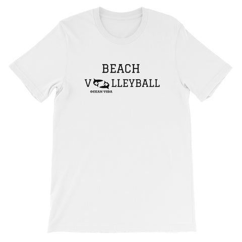 Ocean Vida Short-Sleeve Beach Volleyball T-Shirt