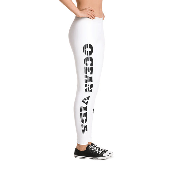 Ocean Viida Leggings Side and Calf Logo