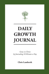 Daily Growth Journal - FREE, One-Week Sample