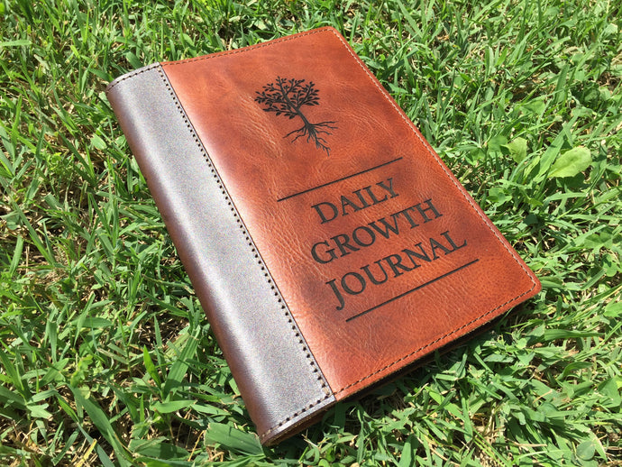 Daily Growth Leather Cover