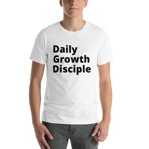 Daily Growth Disciple - Short-Sleeve Unisex T-Shirt