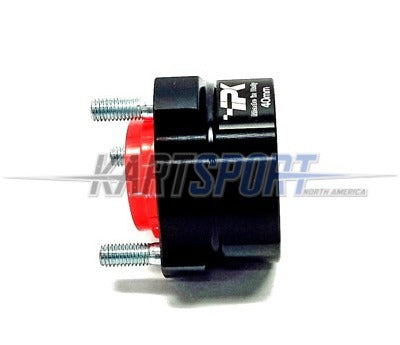 CS-HUB-RR4040-BL Praga Rear Hub Black