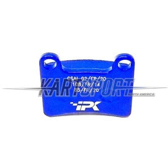 PAD-STR-BL Praga STR-V1 Front Brake Pad - MKB-V1 Rear Blue (Hard)
