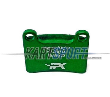 PAD-STR-GR Praga STR-V1 Front Brake Pad - MKB-V1 Rear Green (Super Soft)