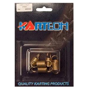 Kartech 15mm Exhaust Spring - Packet of 5