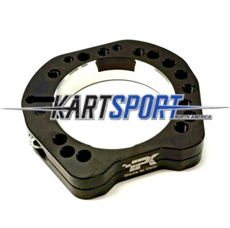 CS-CU-SUP80-BL2 Praga Bearing Flange Support 80mm for 40/50mm Axle Black Line