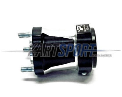 CS-HUB-RR5095-BL Praga Rear Hub Black