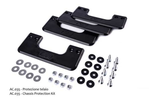 KG Skid Plate Kit - 3 pieces with hardware