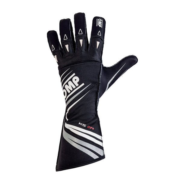 OMP KS-2R Kart Racing Glove Black