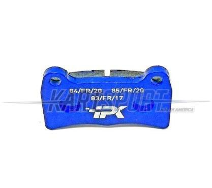 PAD-RBS-BL Praga Rear Brake Pad Blue Hard