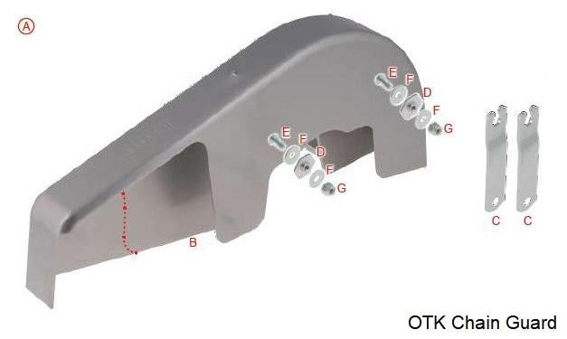 A. OTK Complete Integral Chain Guard Kit