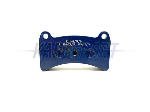 (001) PAD-R1 Praga R1 Rear Brake Pad Blue Hard