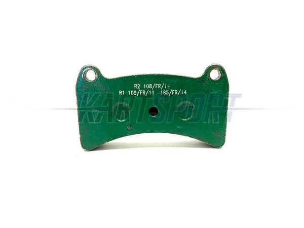 (001) PAD-R1 Praga R1 Rear Brake Pad Green Soft