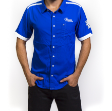 Praga Blue Short Sleeve Shirt
